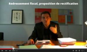 redressement fiscal proposition de rectification